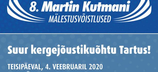 Martin Kutmani 8. mälestusvõistlused juba 4. veebruaril