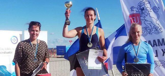 Rannamaadluse meistrivõistlustelt võideti kaks tiitlit