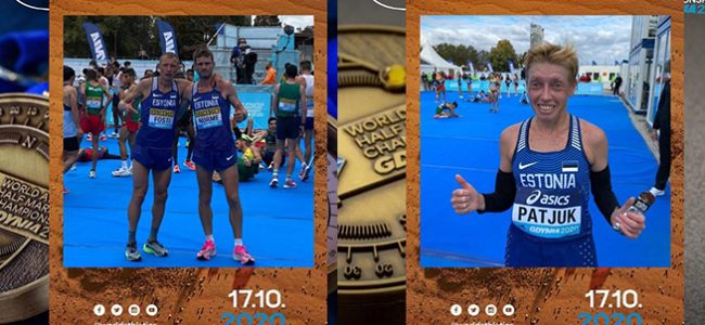 Tiidrek Nurme jooksis poolamaratoni uue Eesti rekordi, Patjuk parandas isiklikku rekordit