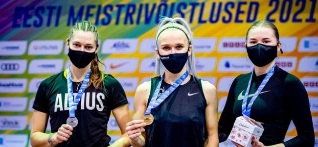 U23 Eesti meistrivõistlustest toodi 10 medalit