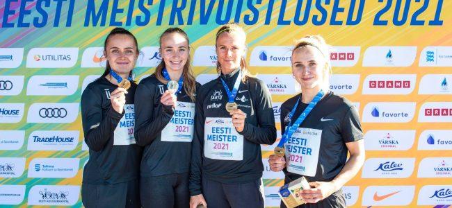 EMV teatejooksudes tõi koju 12 medalit