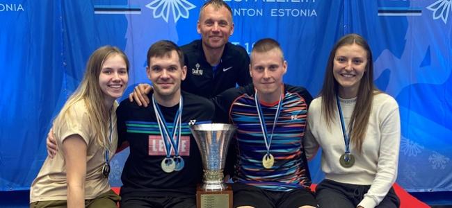Raul Käsner ja Kristjan Kaljurand võidutsesid kodustel meistrivõistlustel